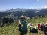 séjour linguistique aux Gets dans les Alpes