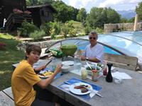 barbecue lunch