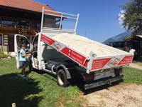lorry with the sand