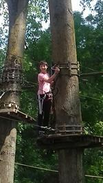 Thomas at tree top trails.