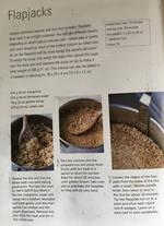 Recipe for flapjacks